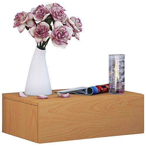 VCM  Nachttisch, Holzstruktur-Nachbildung, 30 x 46 x 15 cm