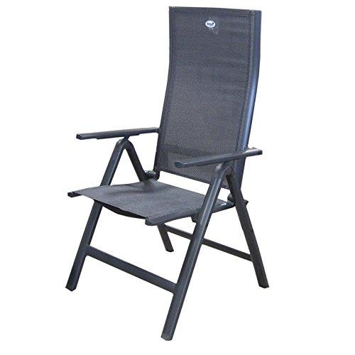 gartenm bel set hartman leonardo 5 teilig alu anthrazit m bel24. Black Bedroom Furniture Sets. Home Design Ideas