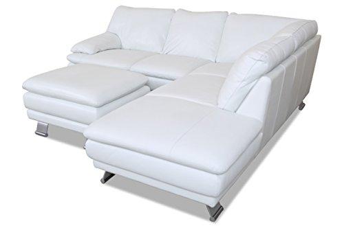 sofa couch editions leder ecksofa xl u118 mit hocker. Black Bedroom Furniture Sets. Home Design Ideas