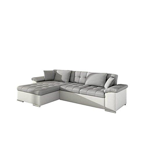 groes design ecksofa diana eckcouch mit bettkasten und schlaffunktion elegante couch moderne. Black Bedroom Furniture Sets. Home Design Ideas