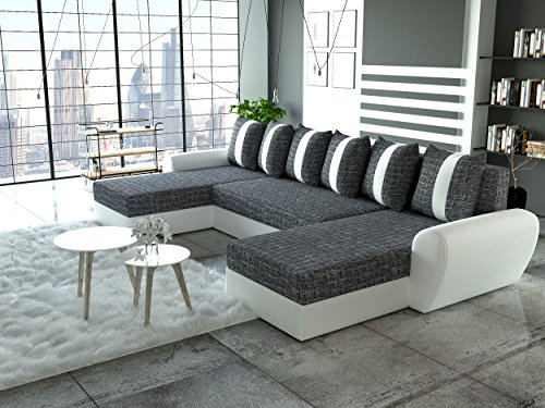 sofa couchgarnitur couch sofagarnitur puma u polstergarnitur polsterecke wohnlandschaft mit. Black Bedroom Furniture Sets. Home Design Ideas