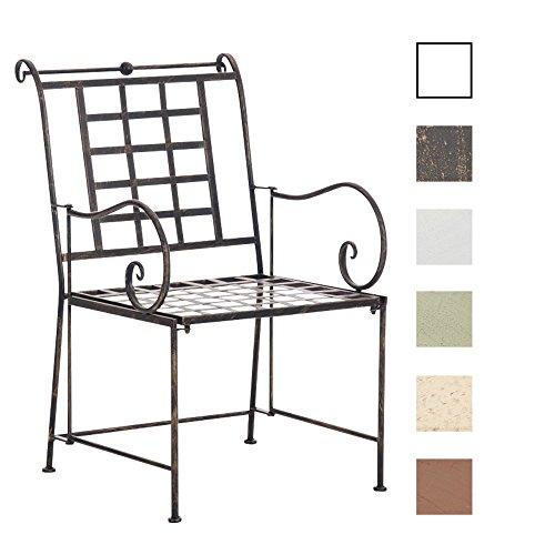 Clp metall garten stuhl helen eisen design nostalgisch for Design stuhl metall