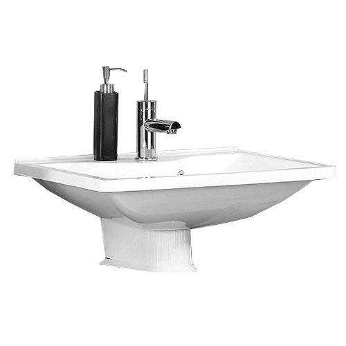 Badmöbel Set 6-tlg »ATLANTA« in weiß, glänzend