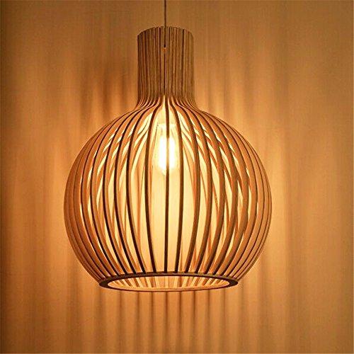 Wowo Minimalistischen Kreative Holz- Käfige Pendelleuchten,450Mm