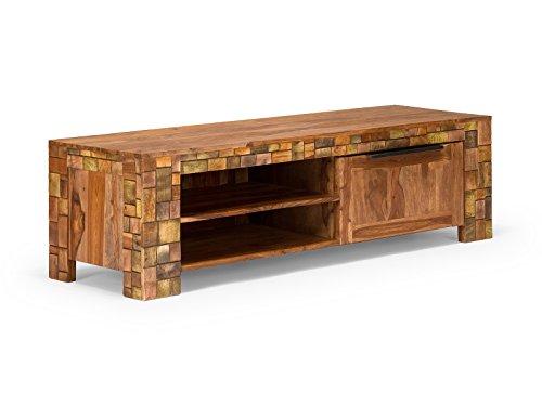 massivum Lowboard Mayari 167x50x48 cm Palisander braun lackiert