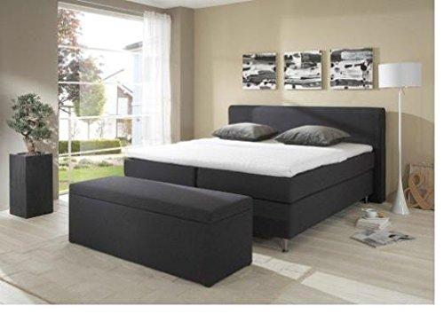 Breckle Boxspringbett 180 x 200 cm Cozy Box mit Stauraum 500 Hollanda 1000 Gel Topper Gel Comfort