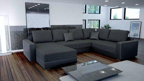 Sofa Couchgarnitur Couch Sofagarnitur STY 3 U Polstergarnitur Polsterecke Wohnlandschaft mit Schlaffunktion
