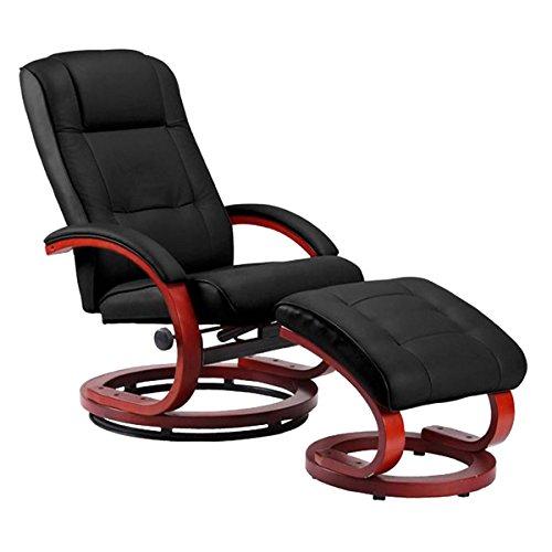 Mendler Massage-Fernsehsessel Pescatori II, Relaxsessel Massagesessel, Massagefunktion ~ schwarz