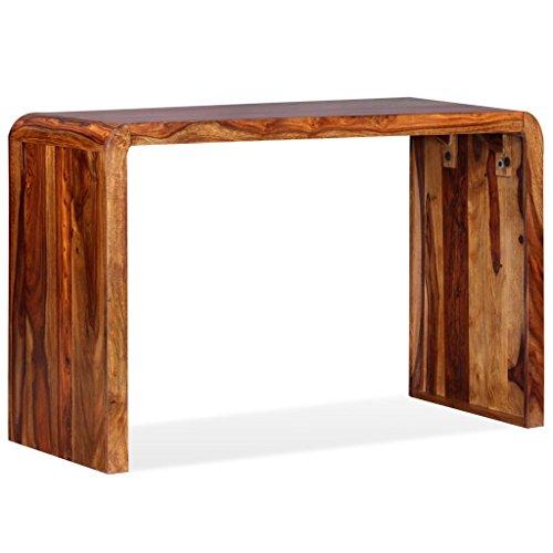 vidaXL Konsolentisch Sheesham Holz Konsole Ablagetisch Sideboard Schreibtisch