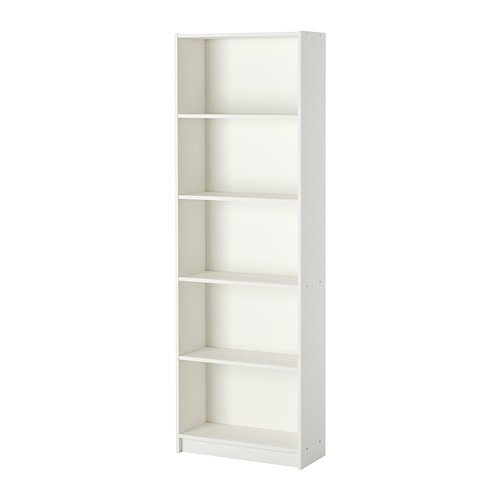 IKEA GERSBY Bücherregal in weiß; (60x180cm)