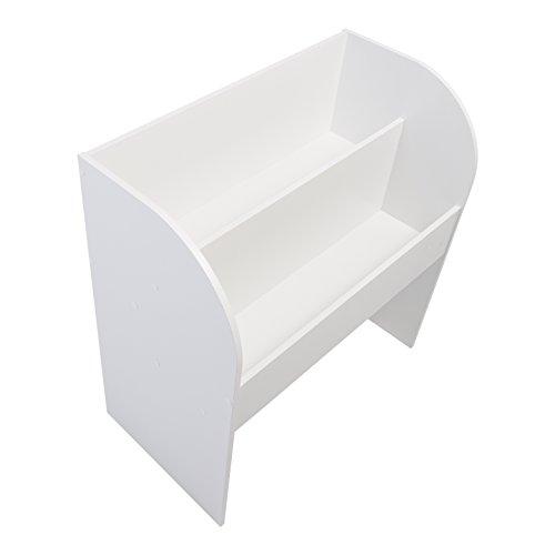 Iris, Kinder Bücherregal 'Kids Bookshelf' mit Stauraum/Aufbewahrung, Holz, Weiß, 67,4 x 36 x 69,8 cm