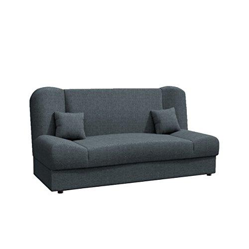 Mirjan24  Schlafsofa Jonas Sale, Ausverkauf, Sofa mit Bettkasten und Schlaffunktion, Schlafcouch, Bettsofa, Dauerschläfer-Sofa, Couch vom Hersteller, Wohnlandschaft (Dot 95)