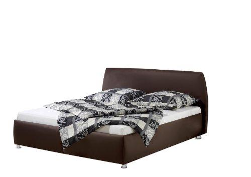 Maintal Betten 232651-4716 Polsterbett Minu 140 x 200 cm, Kunstleder